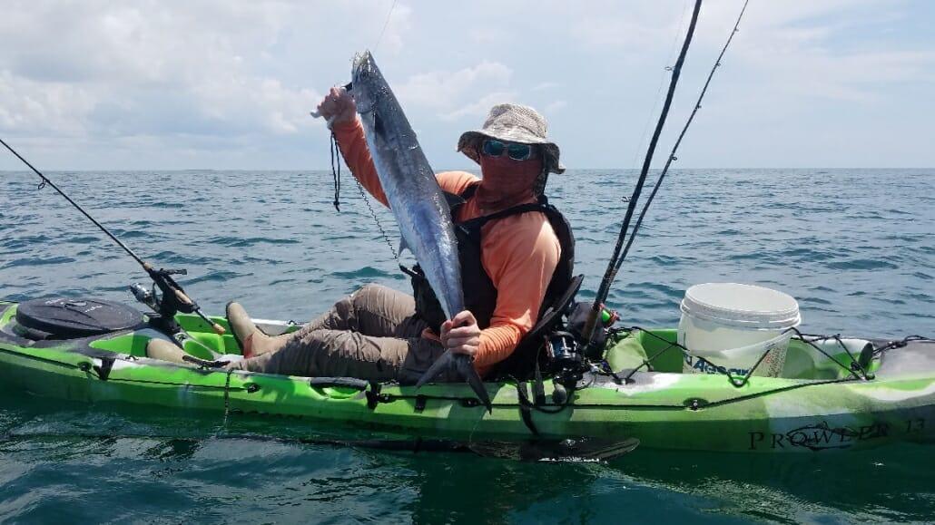 Offshore Kayak Fishing Matagorda Bay